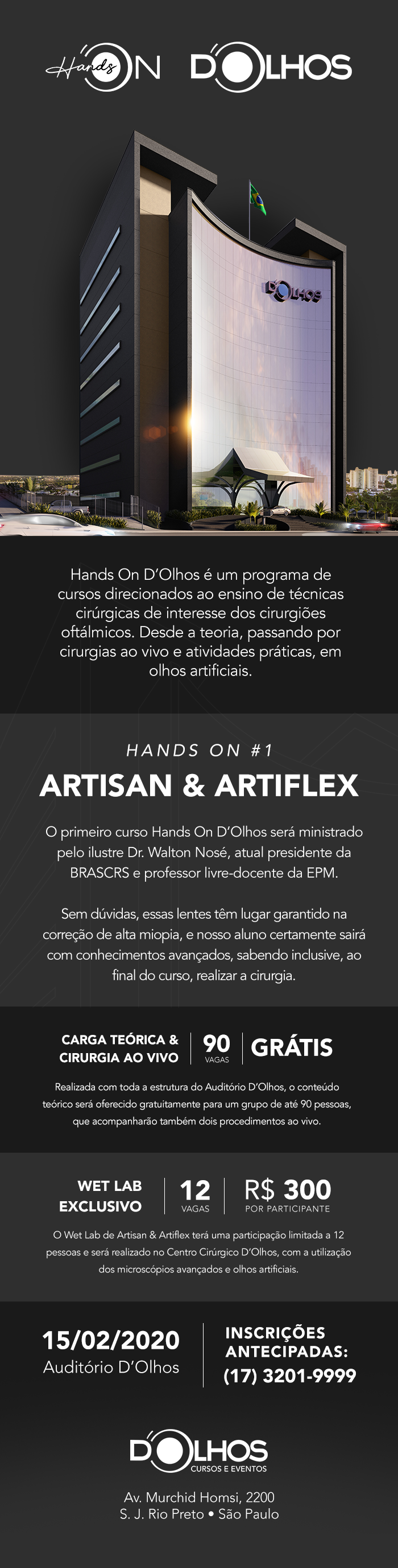 Hands On - D'Olhos Hospital Dia