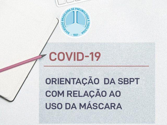 Recomendações da SBPT sobre o uso de máscaras no âmbito da COVID-19 - D'Olhos Hospital Dia